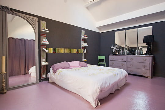 la chambre parentale. Black Bedroom Furniture Sets. Home Design Ideas