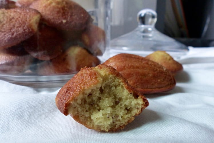 Madeleines sans gluten et sans lactose