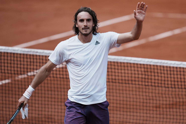 Stefanos Tsitsipas, star de Roland Garros (et Apollon des demi-finales)