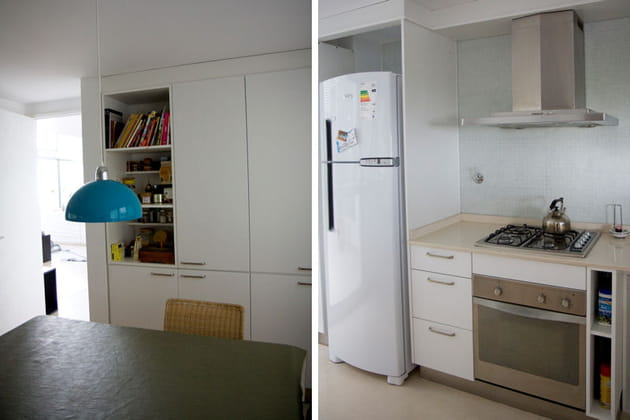 La cuisine, une pièce à vivre