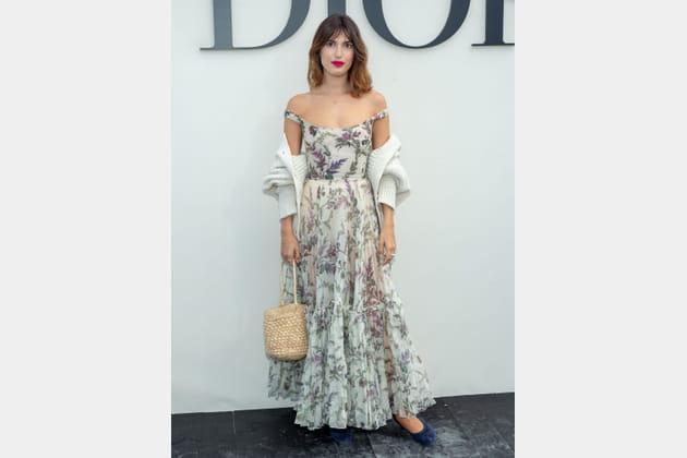 Jeanne Damas au défilé Christian Dior