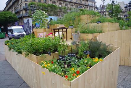 Jardin A toits ouverts