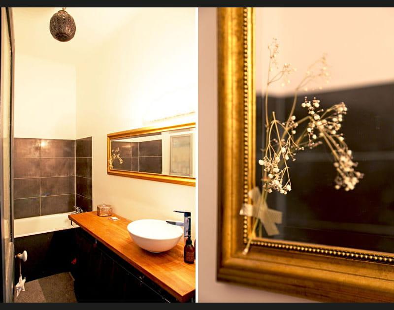 Sobriété et style dans la salle de bains