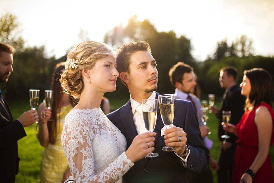 Une garden party pour les mariages d'été