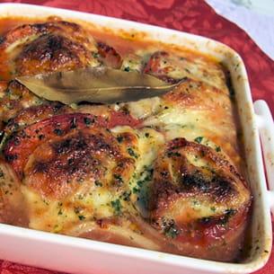 légumes du soleil à la mozzarella