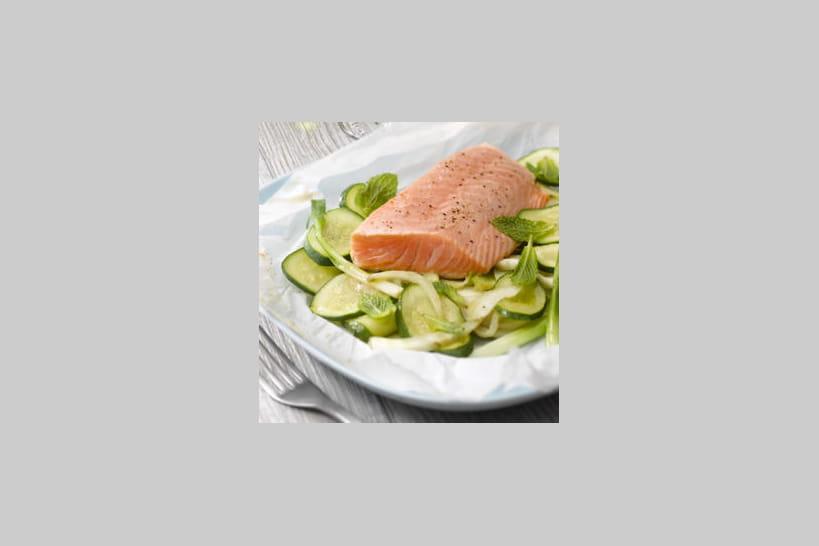 Recettes au saumon frais