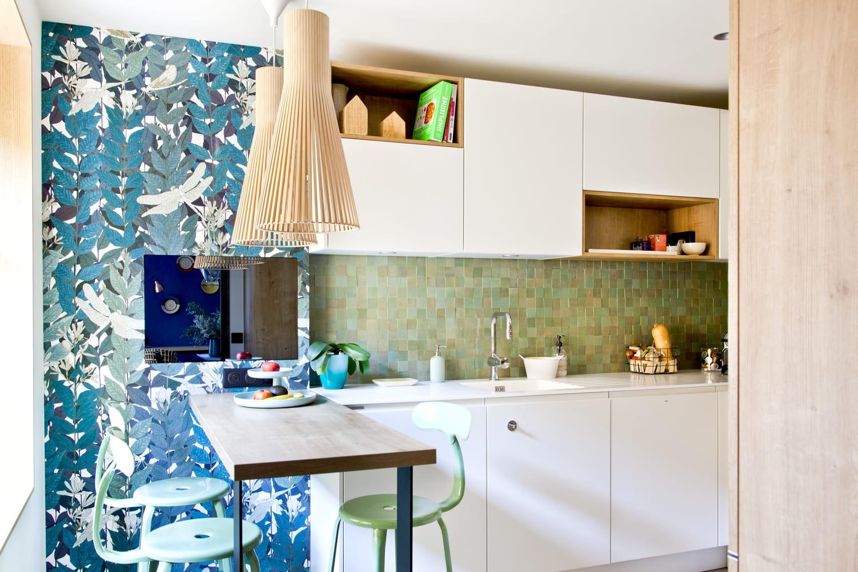Peut-on mettre du papier peint dans la cuisine?