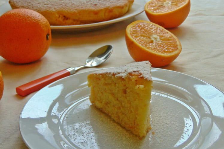 Schiacciata Fiorentina, gâteau à l'orange