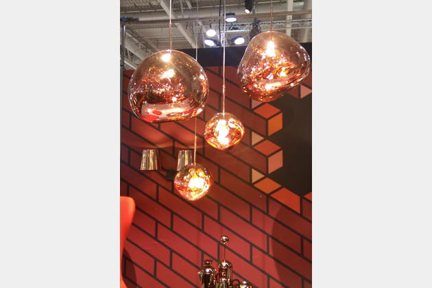 Suspensions Melt Copper de Tom Dixon