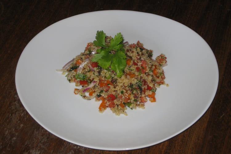 Salade de boulgour aux herbes fraîches