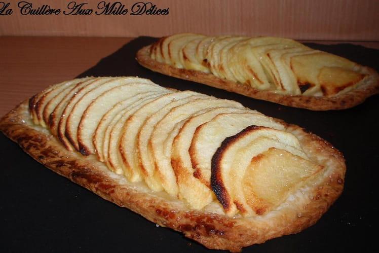 Semelle aux pommes & amandes effilées