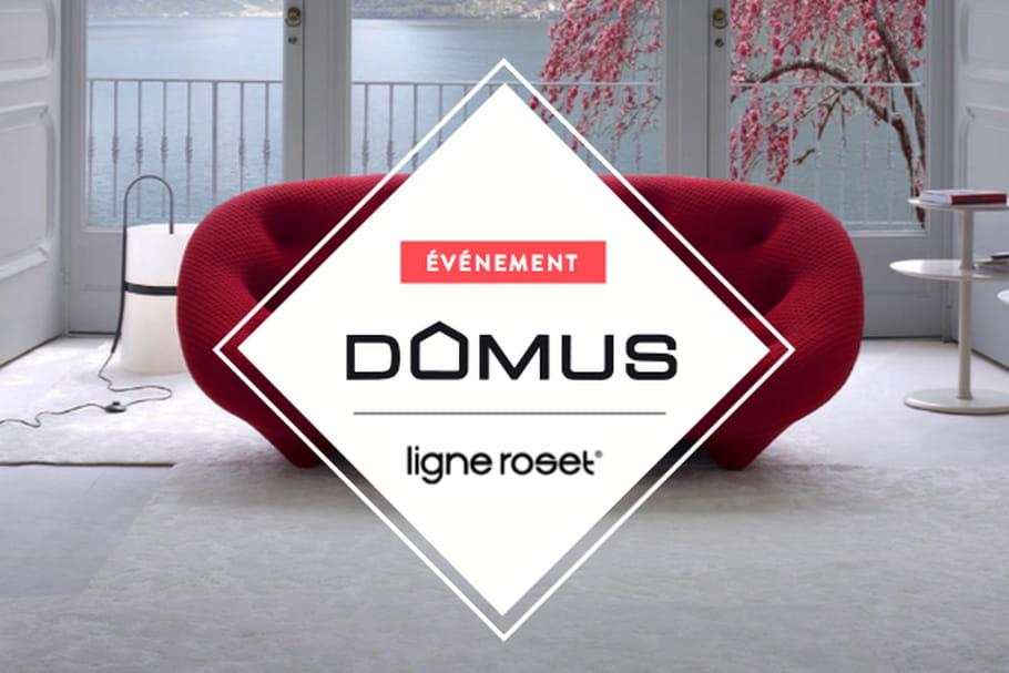 Domus met à l'honneur deux canapés de Ligne Roset