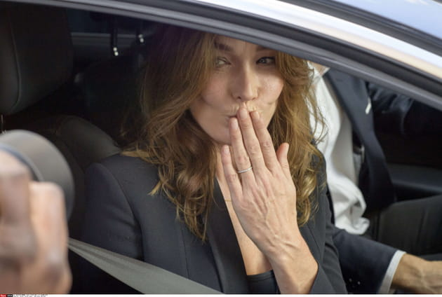 Carla-Bruni Sarkozy, la pressée