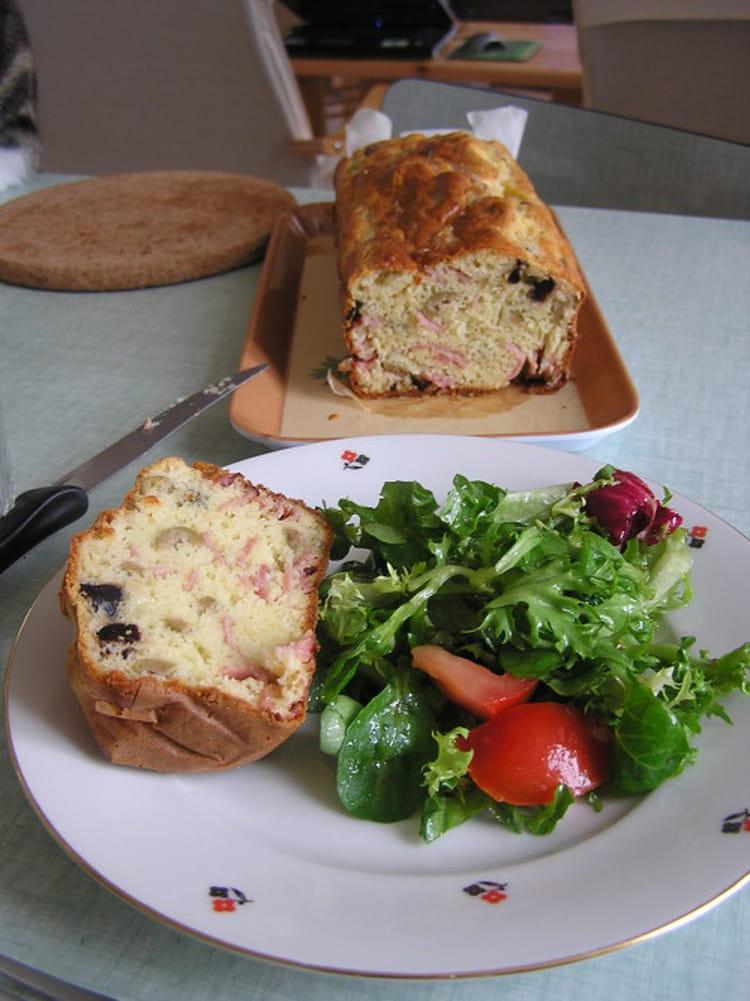 Recette cake aux olives et au jambon cake sal - Recette cake aux olives et jambon ...