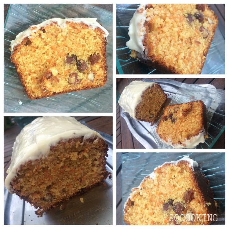 recette de carrot cake aux noisettes et raisins secs la recette facile. Black Bedroom Furniture Sets. Home Design Ideas