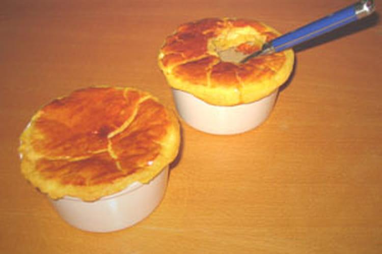 Soupe aux champignons de Paris en croûte