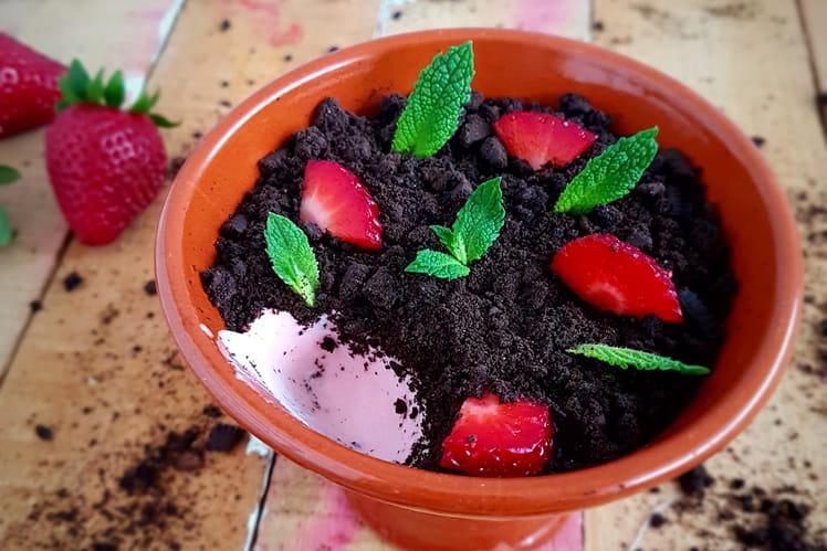 Mousse de fraises originale