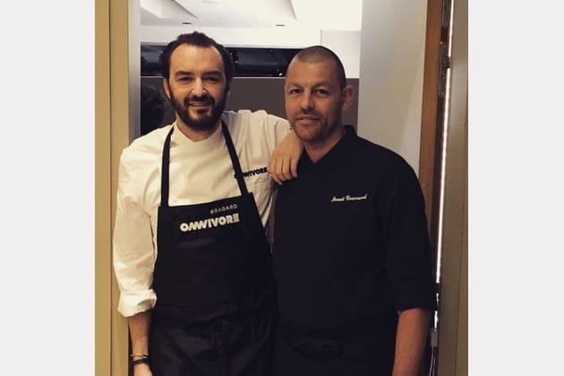 Cyril Lignac et Benoît Couvrand, un duo gourmand