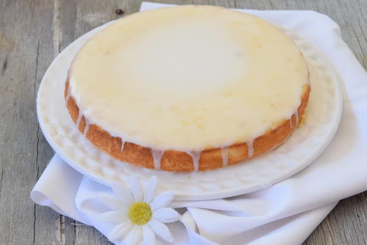 Gâteau au citron sans gluten ni lactose