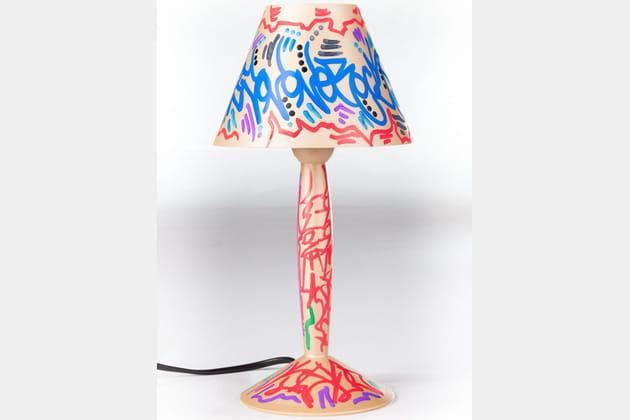 Lampe Miss Sissi Bio-On JonOne