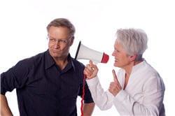 en vieillissant, l'oreille entend moins bien les sons les plus aigus : c'est le