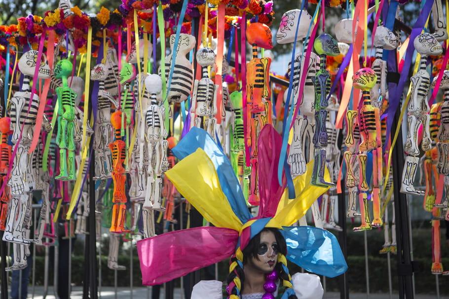 Au Mexique, les morts sont célébrés dans la joie