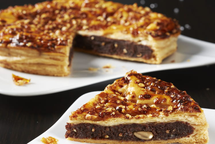 Galette des rois frangipane nougatine chocolat
