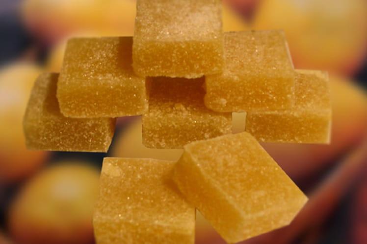 Pâtes de fruits à la pomme de terre et à la vanille