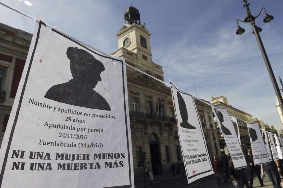 """Violences conjugales: une grève de la faim contre le """"terrorisme machiste"""""""
