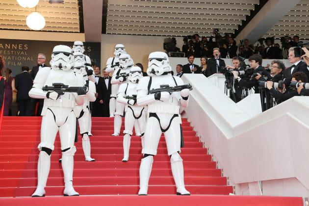 Les Stormtroopers montent aussi les marches