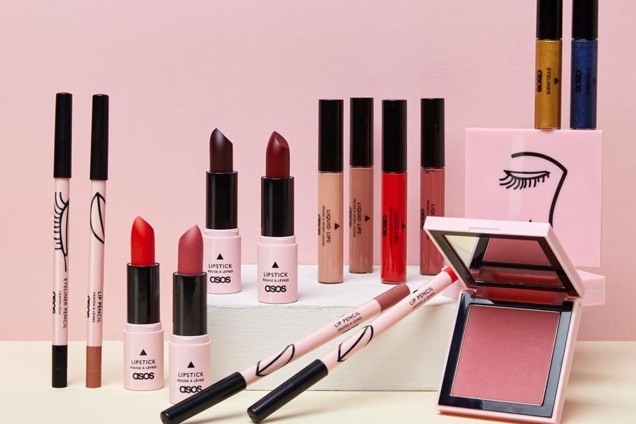 ASOS lance sa première collection maquillage