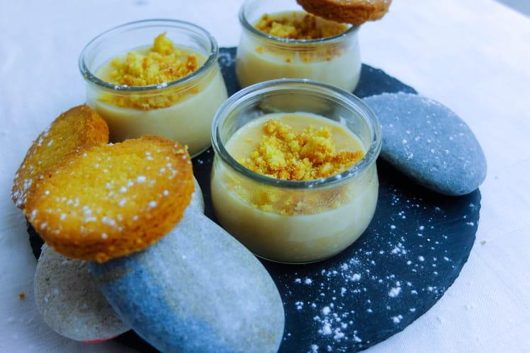 Petits pots de crème aux palets