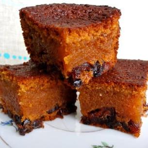 gâteau moelleux aux cranberries