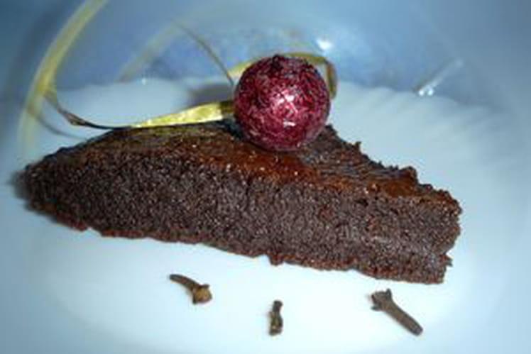 Moelleux au chocolat et aux épices