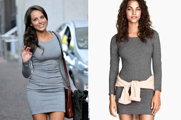 Polly Parsons : une robe moulante