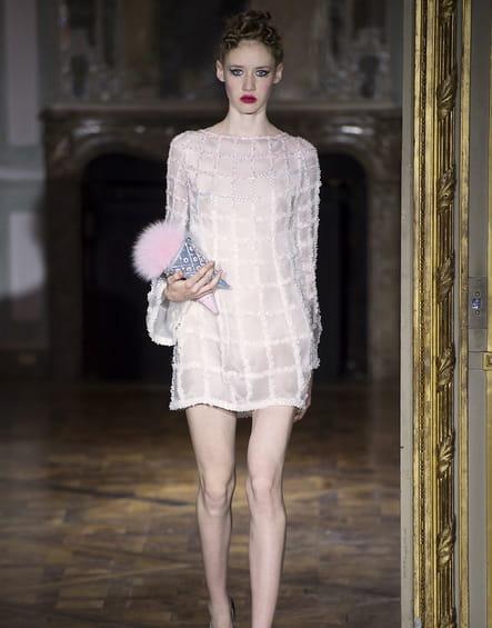 Robe de mariée Ulyana Sergeenko, fluide