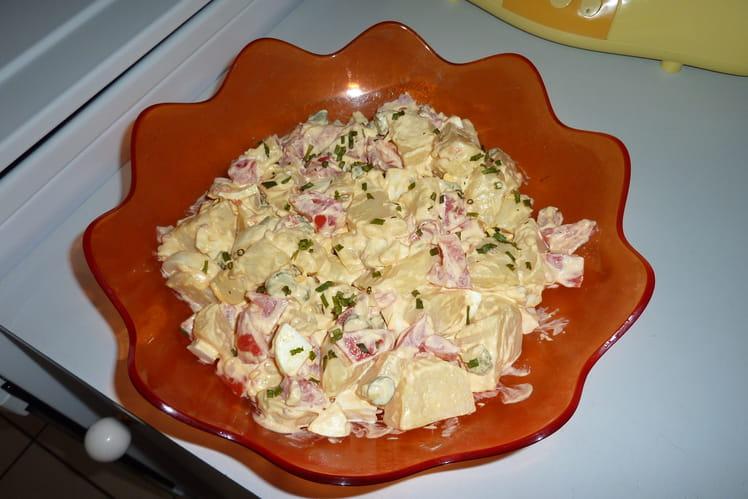 Salade piémontaise simple et rapide