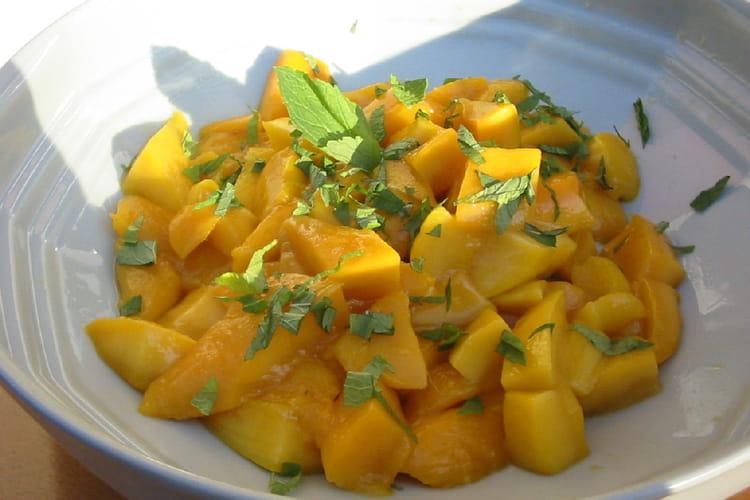 Salade de mangues