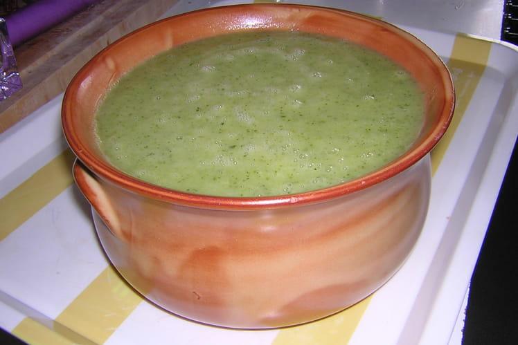 Potage courgette