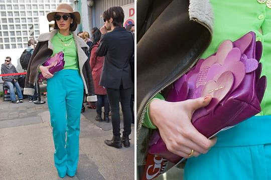 Fashion week : les street looks des défilés parisiens PAP automne-hiver 2011-2012 9