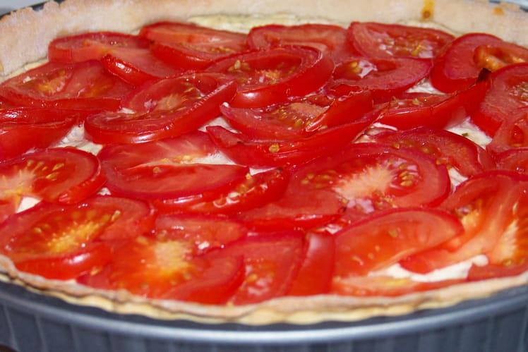 Tarte à la tomate et au Boursin
