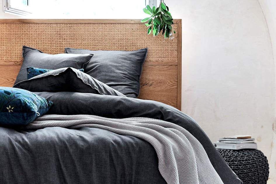 Tête de lit cannage alinea