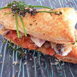 feuilletés de sardines à la citronnelle