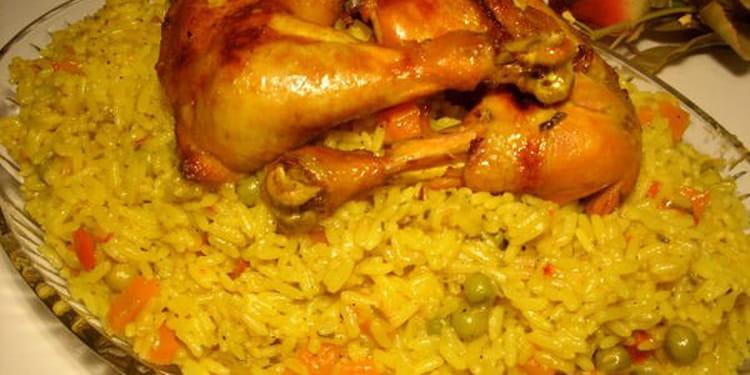 Recette de riz au poulet et l gumes la recette facile - Cuisiner du riz blanc ...