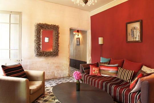 patchwork cerise. Black Bedroom Furniture Sets. Home Design Ideas