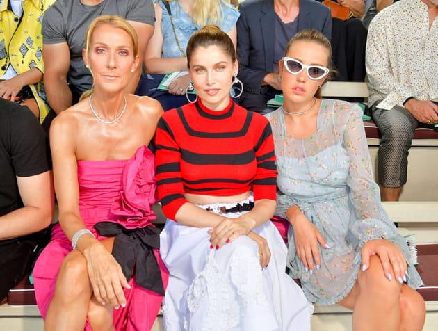 Trois belles à la Fashion Week