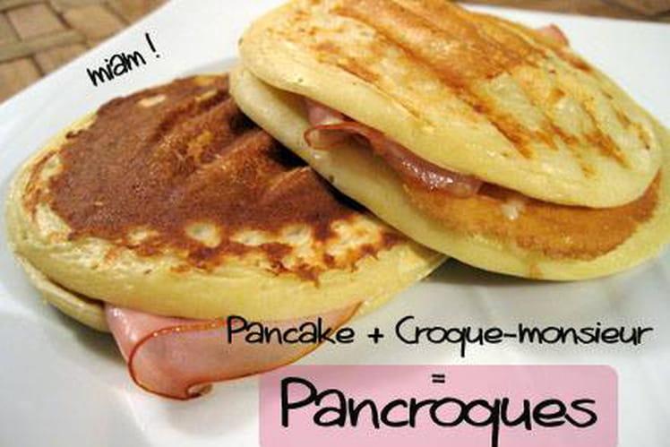Pancakes façon croque