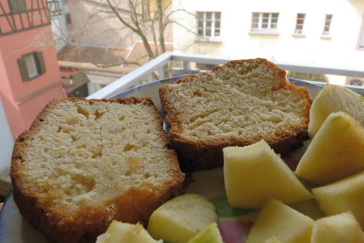 Cake aux zestes de citron