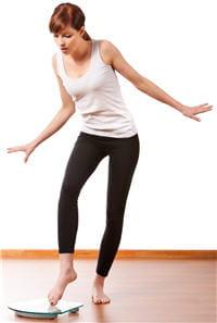 en surveillant son alimentation le temps que le corpss'habitue aux hormones,la