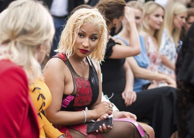 Nicki Minaj au défilé Oscar de la Renta